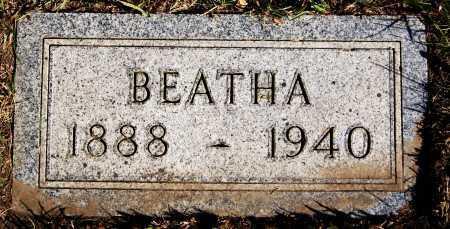 OSWALD, BEATHA - Hutchinson County, South Dakota   BEATHA OSWALD - South Dakota Gravestone Photos