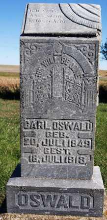 OSWALD, CARL - Hutchinson County, South Dakota | CARL OSWALD - South Dakota Gravestone Photos