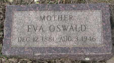 OSWALD, EVA - Hutchinson County, South Dakota   EVA OSWALD - South Dakota Gravestone Photos