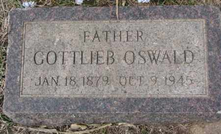 OSWALD, GOTTLIEB - Hutchinson County, South Dakota | GOTTLIEB OSWALD - South Dakota Gravestone Photos