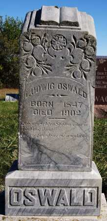OSWALD, LUDWIG - Hutchinson County, South Dakota | LUDWIG OSWALD - South Dakota Gravestone Photos