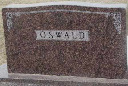 OSWALD, PLOT - Hutchinson County, South Dakota | PLOT OSWALD - South Dakota Gravestone Photos