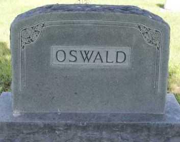 OSWALD, FAMILY PLOT MARKER - Hutchinson County, South Dakota | FAMILY PLOT MARKER OSWALD - South Dakota Gravestone Photos