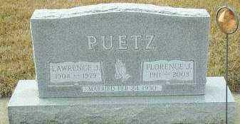 PUETZ, FLORENCE - Hutchinson County, South Dakota | FLORENCE PUETZ - South Dakota Gravestone Photos