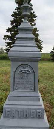 RADEMACHER, JOHN - Hutchinson County, South Dakota | JOHN RADEMACHER - South Dakota Gravestone Photos
