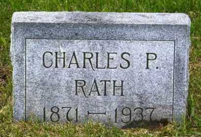 RATH, CHARLES P. - Hutchinson County, South Dakota | CHARLES P. RATH - South Dakota Gravestone Photos