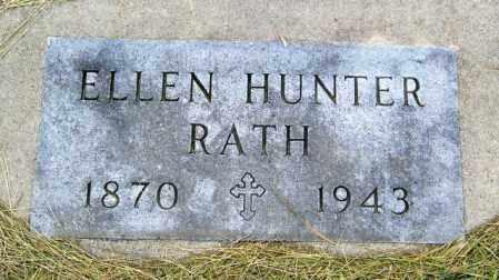HUNTER RATH, ELLEN - Hutchinson County, South Dakota | ELLEN HUNTER RATH - South Dakota Gravestone Photos