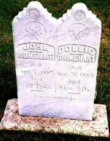 RHINEHART, JOHN - Hutchinson County, South Dakota | JOHN RHINEHART - South Dakota Gravestone Photos