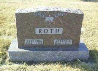 ROTH, VERONICA - Hutchinson County, South Dakota | VERONICA ROTH - South Dakota Gravestone Photos