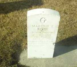 ROTH, MARCUS - Hutchinson County, South Dakota   MARCUS ROTH - South Dakota Gravestone Photos