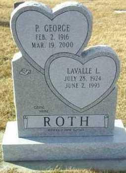 ROTH, P. GEORGE - Hutchinson County, South Dakota   P. GEORGE ROTH - South Dakota Gravestone Photos