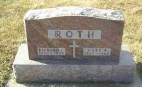 ROTH, MARY - Hutchinson County, South Dakota | MARY ROTH - South Dakota Gravestone Photos