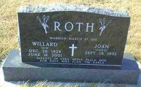 ROTH, WILLARD - Hutchinson County, South Dakota | WILLARD ROTH - South Dakota Gravestone Photos