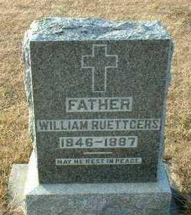 RUETTGERS, WILLIAM - Hutchinson County, South Dakota | WILLIAM RUETTGERS - South Dakota Gravestone Photos