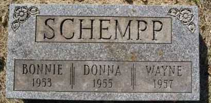 SCHEMPP, BONNIE - Hutchinson County, South Dakota | BONNIE SCHEMPP - South Dakota Gravestone Photos