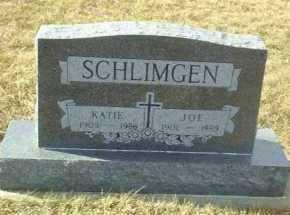 SCHLIMGEN, KATIE - Hutchinson County, South Dakota | KATIE SCHLIMGEN - South Dakota Gravestone Photos