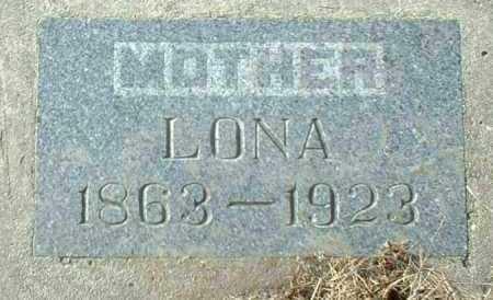 SCHLIMGEN, LONA - Hutchinson County, South Dakota | LONA SCHLIMGEN - South Dakota Gravestone Photos