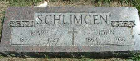 SCHLIMGEN, JOHN - Hutchinson County, South Dakota | JOHN SCHLIMGEN - South Dakota Gravestone Photos