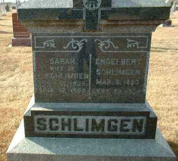 SCHLIMGEN, SARAH - Hutchinson County, South Dakota | SARAH SCHLIMGEN - South Dakota Gravestone Photos