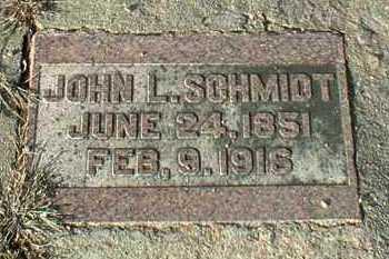 SCHMIDT, JOHN - Hutchinson County, South Dakota   JOHN SCHMIDT - South Dakota Gravestone Photos