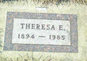 SCHMIDT, THERESA - Hutchinson County, South Dakota   THERESA SCHMIDT - South Dakota Gravestone Photos