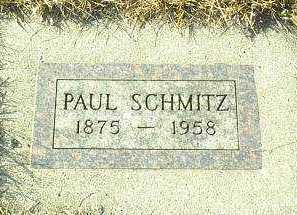 SCHMITZ, PAUL - Hutchinson County, South Dakota | PAUL SCHMITZ - South Dakota Gravestone Photos