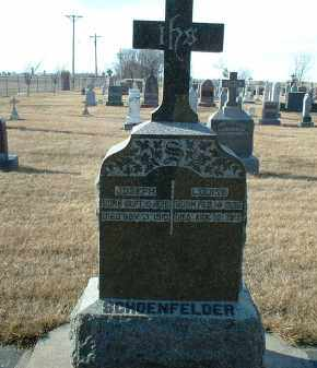 SCHOENFELDER, JOSEPH - Hutchinson County, South Dakota | JOSEPH SCHOENFELDER - South Dakota Gravestone Photos