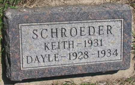 SCHROEDER, DAYLE - Hutchinson County, South Dakota | DAYLE SCHROEDER - South Dakota Gravestone Photos