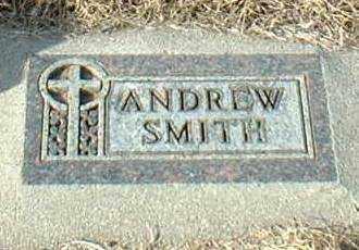 SMITH, ANDREW - Hutchinson County, South Dakota | ANDREW SMITH - South Dakota Gravestone Photos
