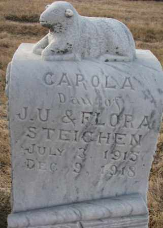 STEICHEN, CAROLA - Hutchinson County, South Dakota | CAROLA STEICHEN - South Dakota Gravestone Photos