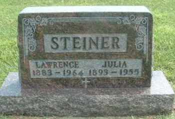 STEINER, LAWRENCE - Hutchinson County, South Dakota | LAWRENCE STEINER - South Dakota Gravestone Photos