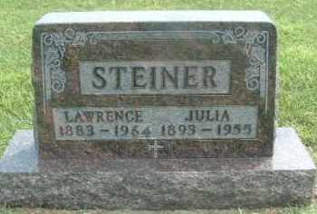 STEINER, JULIA - Hutchinson County, South Dakota | JULIA STEINER - South Dakota Gravestone Photos