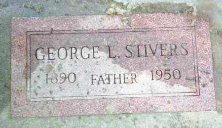 STIVERS, GEORGE - Hutchinson County, South Dakota   GEORGE STIVERS - South Dakota Gravestone Photos