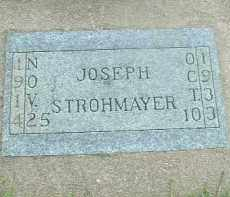 STROHMAYER, JOSEPH - Hutchinson County, South Dakota | JOSEPH STROHMAYER - South Dakota Gravestone Photos
