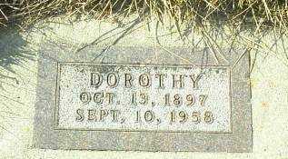 SUDBECK, DOROTHY - Hutchinson County, South Dakota | DOROTHY SUDBECK - South Dakota Gravestone Photos