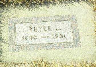 SUDBECK, PETER - Hutchinson County, South Dakota   PETER SUDBECK - South Dakota Gravestone Photos