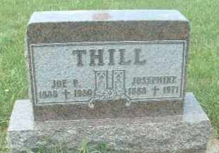THILL, JOSEPHINE - Hutchinson County, South Dakota | JOSEPHINE THILL - South Dakota Gravestone Photos