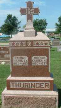 THURINGER, KATHERINE - Hutchinson County, South Dakota | KATHERINE THURINGER - South Dakota Gravestone Photos