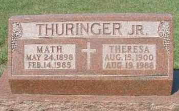 THURINGER, THERESA - Hutchinson County, South Dakota | THERESA THURINGER - South Dakota Gravestone Photos
