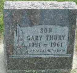 THURY, GARY - Hutchinson County, South Dakota | GARY THURY - South Dakota Gravestone Photos