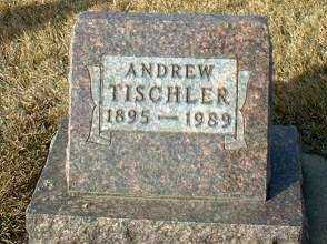TISCHLER, ANDREW T - Hutchinson County, South Dakota | ANDREW T TISCHLER - South Dakota Gravestone Photos