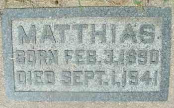 TISCHLER, MATTHIAS - Hutchinson County, South Dakota | MATTHIAS TISCHLER - South Dakota Gravestone Photos