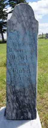 LEMKE, FAMILY MARKER - Hutchinson County, South Dakota | FAMILY MARKER LEMKE - South Dakota Gravestone Photos