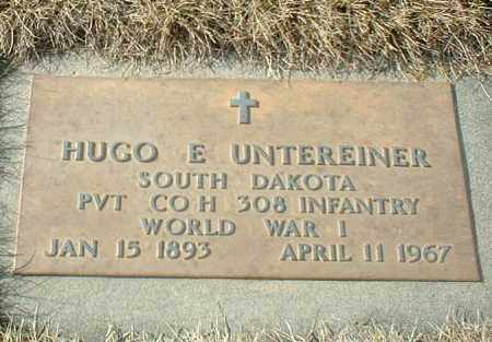 UNTEREINER, HUGO - Hutchinson County, South Dakota   HUGO UNTEREINER - South Dakota Gravestone Photos