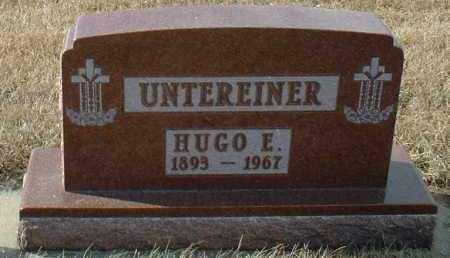 UNTEREINER, HUGO - Hutchinson County, South Dakota | HUGO UNTEREINER - South Dakota Gravestone Photos