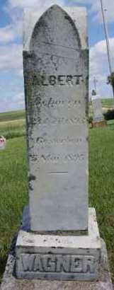 WAGNER, ALBERT - Hutchinson County, South Dakota | ALBERT WAGNER - South Dakota Gravestone Photos