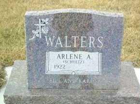 WALTERS, ARLENE - Hutchinson County, South Dakota   ARLENE WALTERS - South Dakota Gravestone Photos