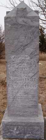 HUBER WALZ, DOROTHEA - Hutchinson County, South Dakota   DOROTHEA HUBER WALZ - South Dakota Gravestone Photos