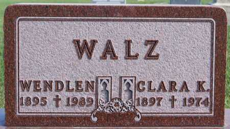 WALZ, WENDLEN - Hutchinson County, South Dakota | WENDLEN WALZ - South Dakota Gravestone Photos