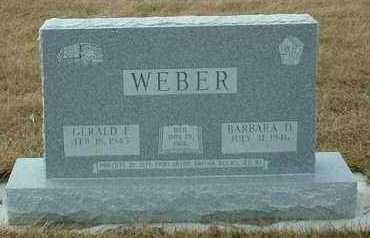 WEBER, BARBARA - Hutchinson County, South Dakota | BARBARA WEBER - South Dakota Gravestone Photos